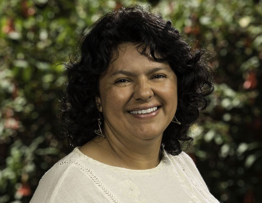 Berta Cáceres was awarded the Goldman Environmental Prize in 2015.