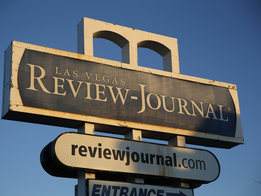 The <em>Las Vegas Review-Journal</em> was bought by billionaire casino mogul Sheldon Adelson late last year.