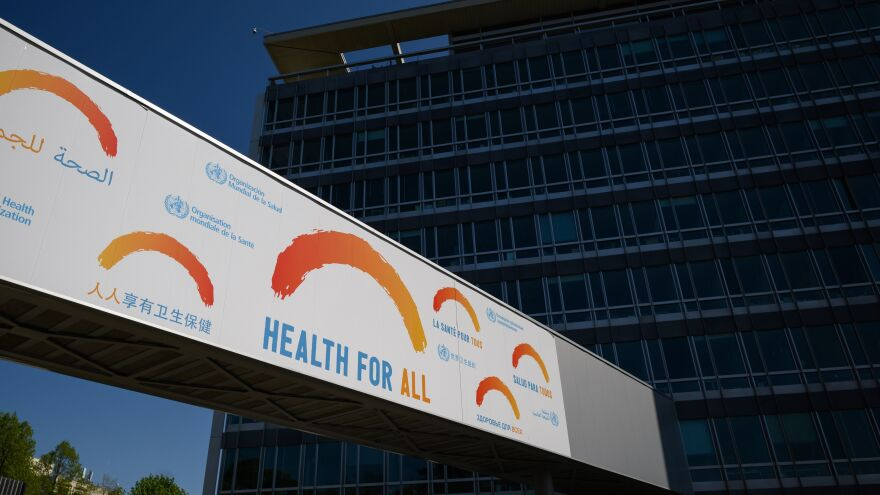 Experts from the World Health Organization say they gave explicit warnings about the risks of the COVID-19 outbreak in early January. They said this after President Trump this week accused the agency of obscuring the truth. Above: the WHO's headquarters in Geneva.
