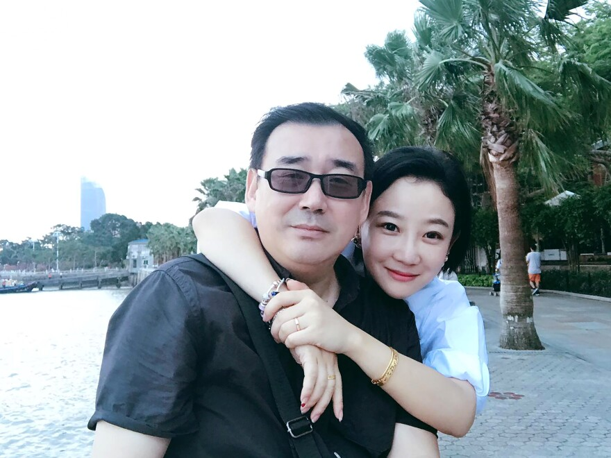 "The Australian government said on Tuesday that it was ""very concerned and disappointed"" that Yang Hengjun, shown with wife Yuan Xiaoliang, had been formally arrested in China on suspicion of espionage."