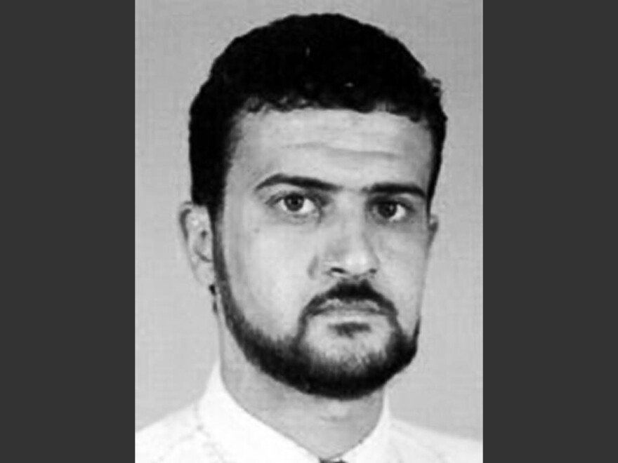 A file image from the FBI website shows alleged al-Qaida operative Abu Anas al-Libi, who has reportedly died in U.S. custody.