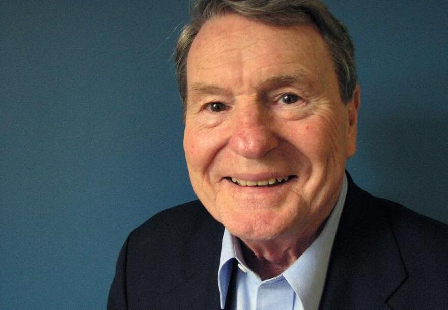 Jim Lehrer around 2016.