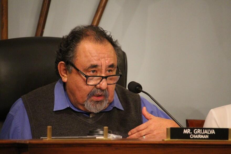 Photo of Raul Grijalva.