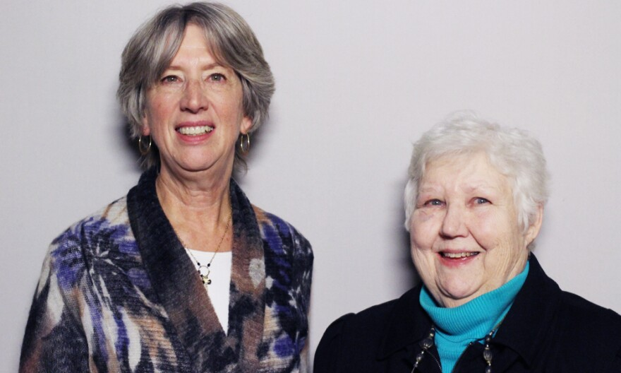 """Carol Miller, 68, and Marge Klindera, 79, are here to help — and have been for many years now. """"People say, 'You mean you've given up Thanksgiving for all these years?' """" Miller remarks. """"And I never feel like I've ever given anything up."""""""