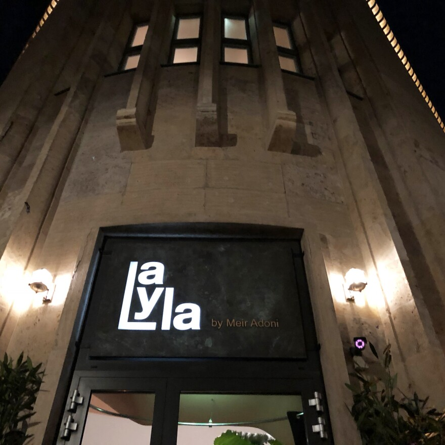 Tel Aviv celebrity chef Meir Adoni opened the restaurant Layla in Berlin last fall.