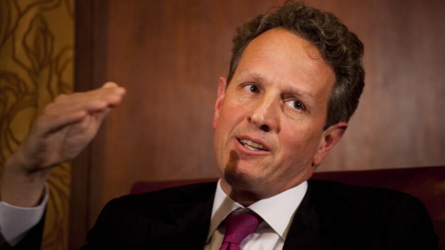 Treasury Secretary Timothy Geithner.
