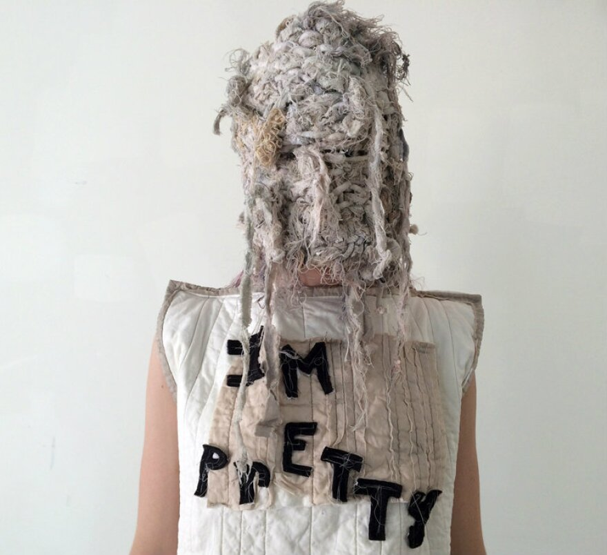 'I'm Pretty' art by Grace Kubilius