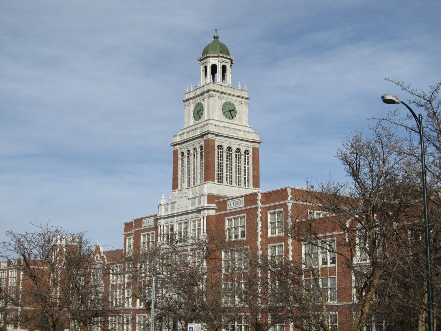 East High School, located in the City Park neighborhood of Denver, is a part of the Denver Public Schools system.