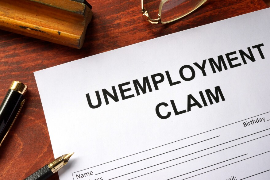 Unemployment claim form