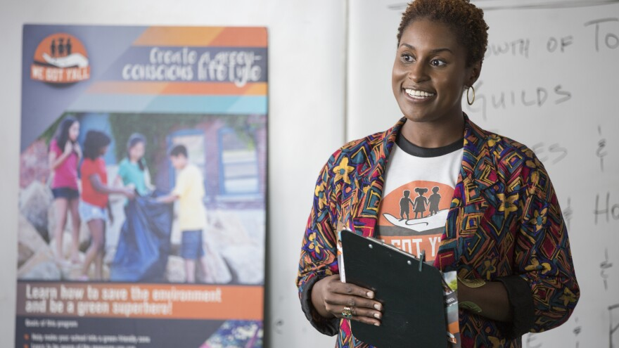 Issa Rae stars in the new HBO series <em>Insecure</em>.
