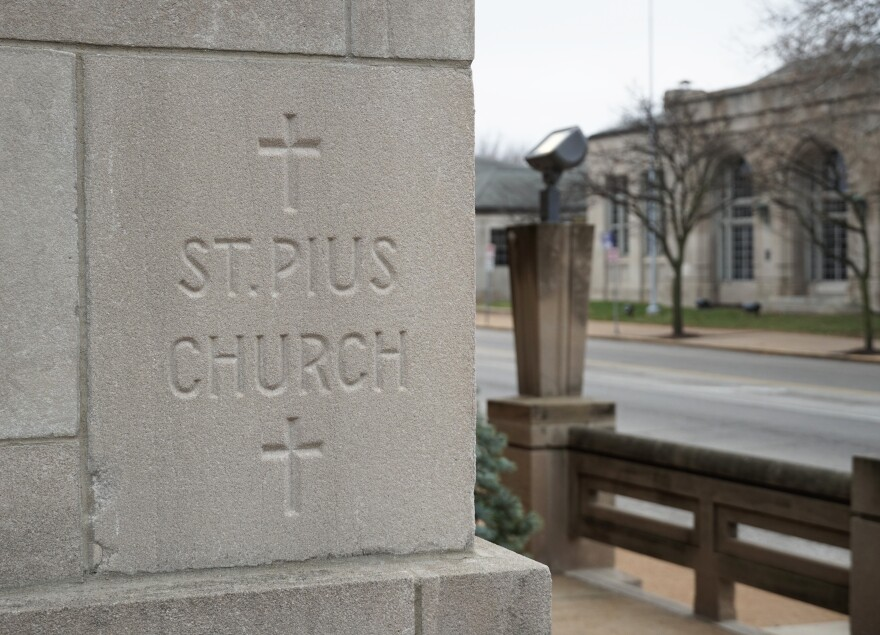 The congregation of St. Pius V Catholic Church has considered implementing stronger safety measures in recent years, after a member was robbed in the parking lot.