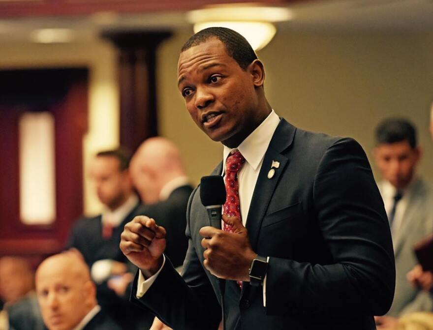 Representative Al Jacquet (D-West Palm Beach).