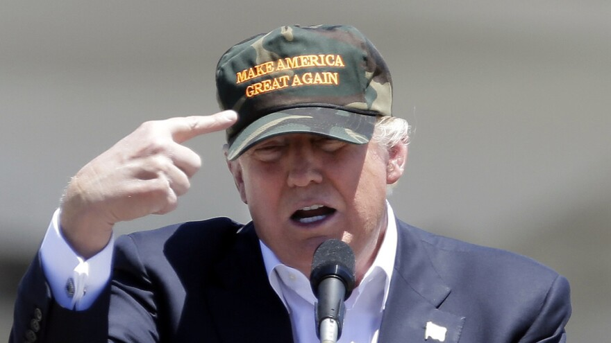 Making America Great Again - a nationalist slogan - has been the central theme of Donald Trump's presidential campaign