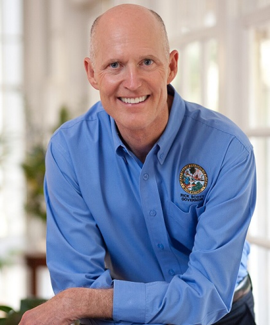 Gov. Rick Scott is suing the federal government over Low-Income Pool funding.