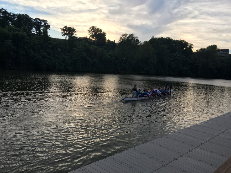 photo of Team Dragonflys from Dragon Boating Festival