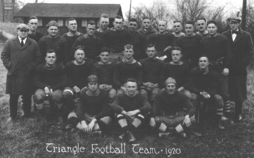 1920 Dayton Triangles, Photo created: December 31, 1919