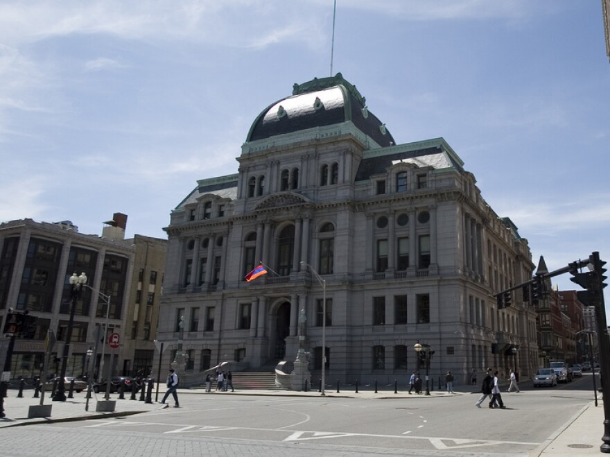 Dedicated in 1878, Providence's City Hall has seen its fair share of corruption.