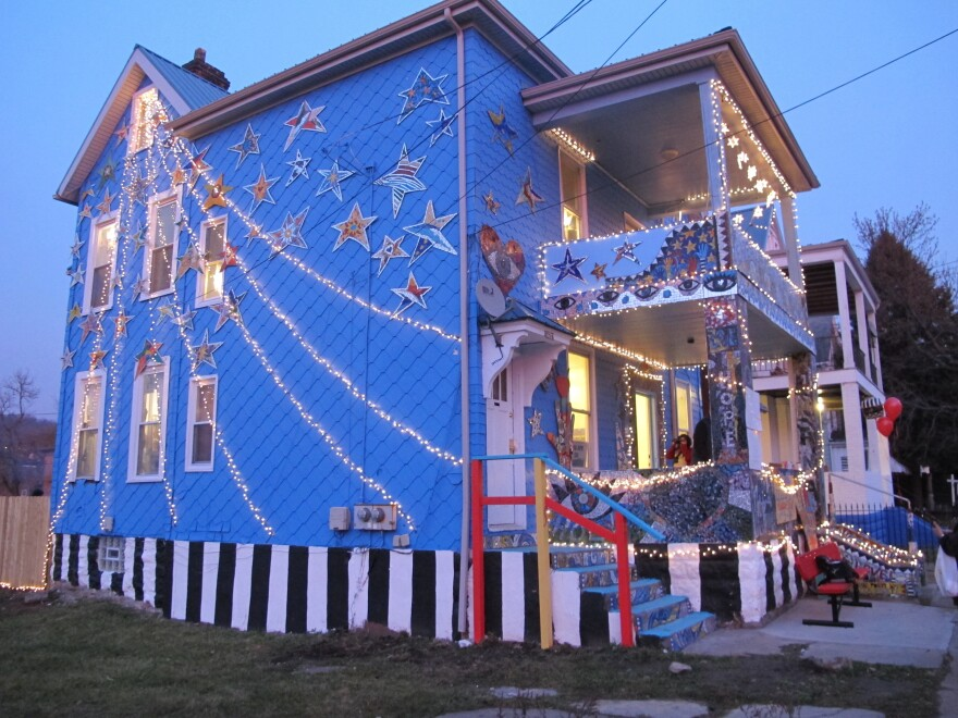 """The Art House celebrated their new home with a """"Night of Illumination"""" in December."""