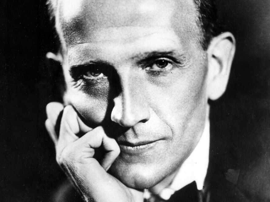 British author A.A. Milne looks positively Bond-esque in this photo from 1952.
