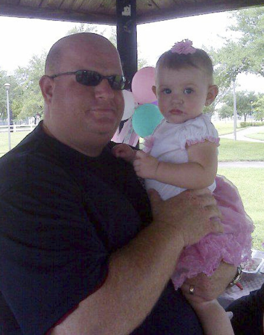 Aaron Feis, a football coach at Marjory Stonemason Douglas High School in Parkland, Fla., was fatally shot when former student Nikolas Cruz opened fire at the school on Wednesday, Feb. 14, 2018.