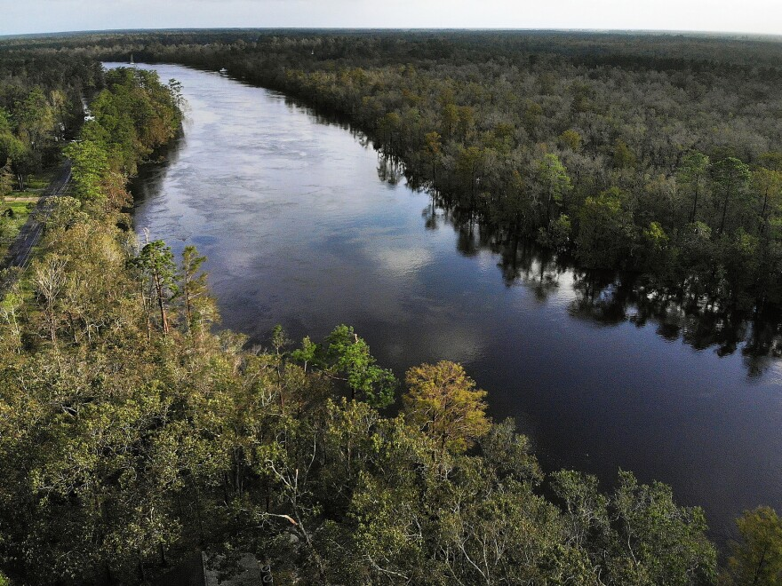 Parts of the Cape Fear River near Fayetteville, N.C., are contaminated with a PFAS compound called GenX. The North Carolina Department of Health and Human Services is surveying residents in the area about their health.