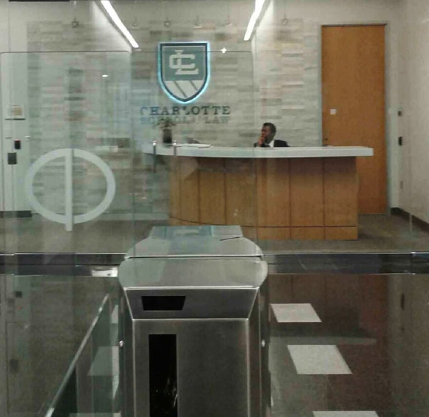 Charlotte School of Law entrance