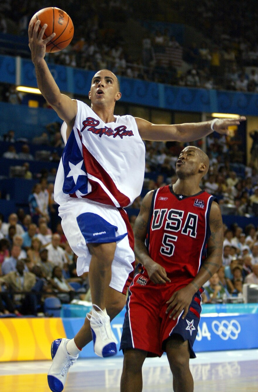 "Puerto Rico's shocking upset of the United States men's basketball team in the 2004 Olympics was layered with political subtext. ""It meant a lot — not only because of the sport, but because they did it to the U.S.,"" said Antonio Sotomayor, a professor of Latin American and Caribbean studies."