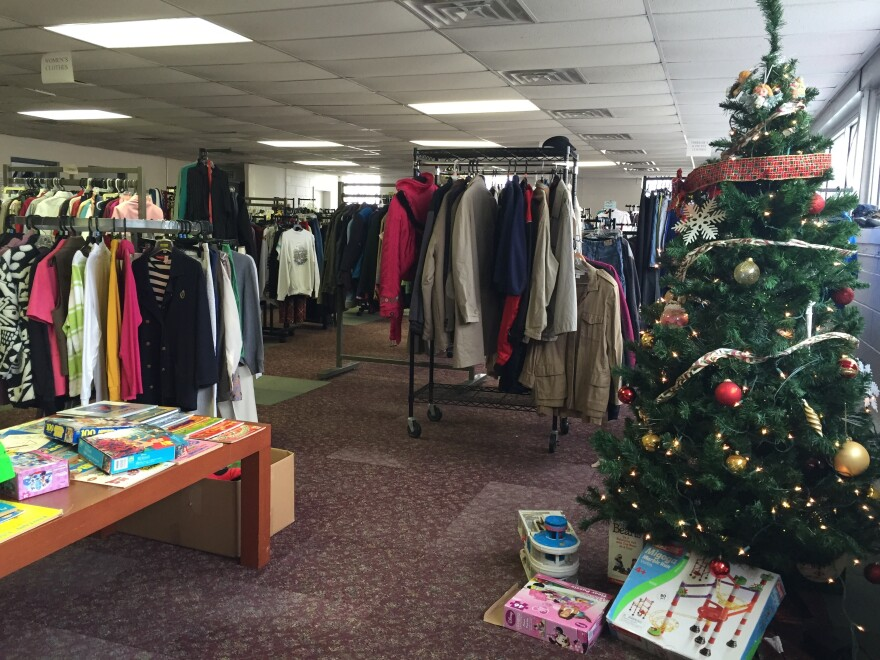 """The """"shopping experience"""" is a key element in the service Matthew's Closet provides."""