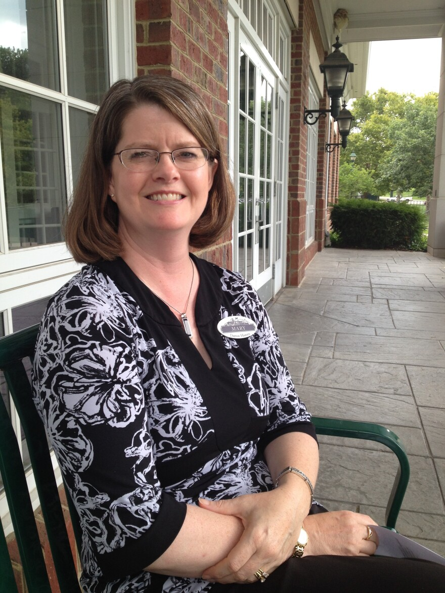Mary Oliver is the director of collections at Carillon Historical Park in Dayton.