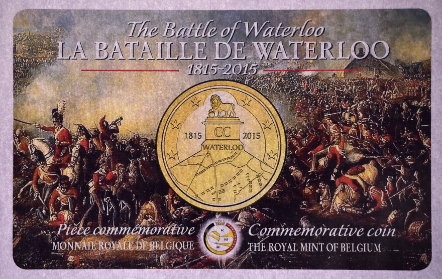 France objected to Belgium's plan to mint a Waterloo euro coin marking the 200th anniversary. Instead, Brussels has issued collectors commemorative coins.