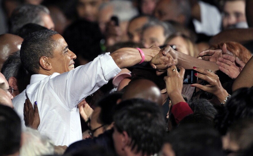 The erosion of President Obama's support among white voters means he must rely even more on nonwhites.