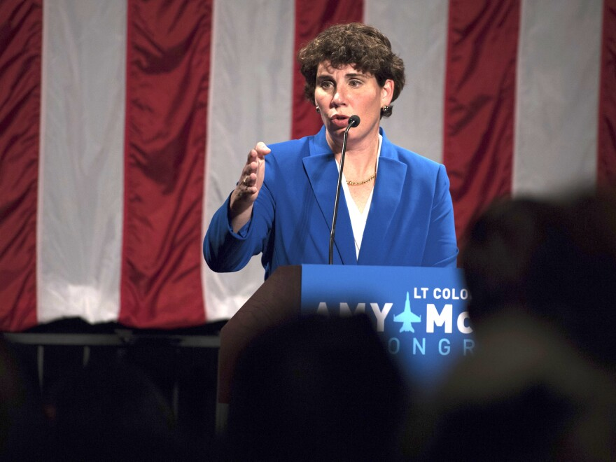 Amy McGrath, who has the backing of the Democratic establishment, has raised over $40 million in her quest for the Democratic nomination to run against Sen. Mitch McConnell this fall, but the protests over racial injustice and the high-profile case of Breonna Taylor's death in Louisville have changed the shape of the race.