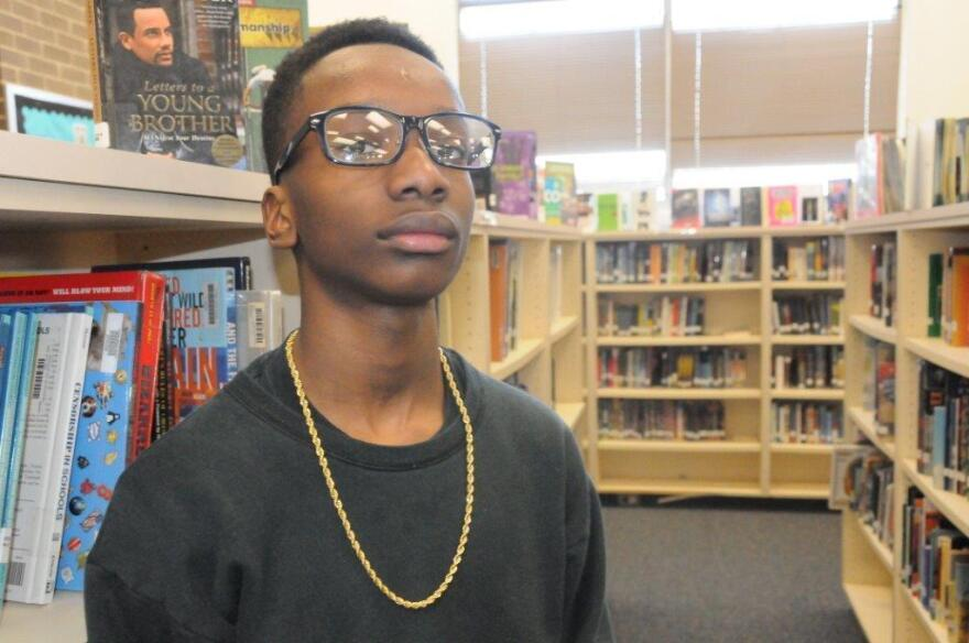 """I just feel as though it's real childish, and I don't think grown adults should be acting like us,"" said Durham, N.C., eighth-grader Samori Reed-Bandele."