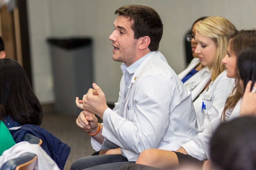 Medical students at George Washington University met with residents of Washington, D.C., to find out what challenges they face in managing asthma.