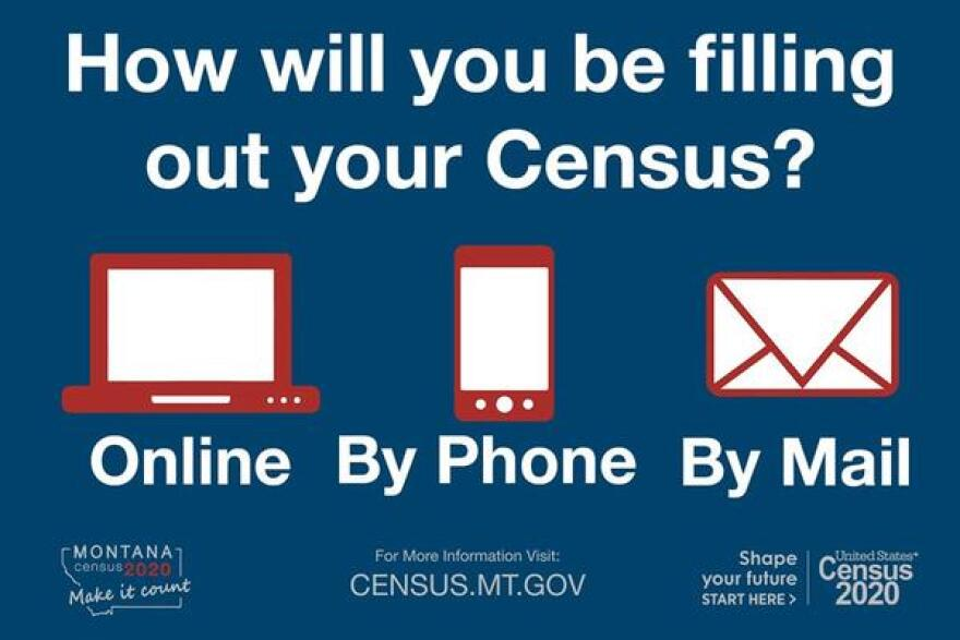 Montanas are being asked to report Census data online or by phone even without receiving a specialized ID code to begin the process.