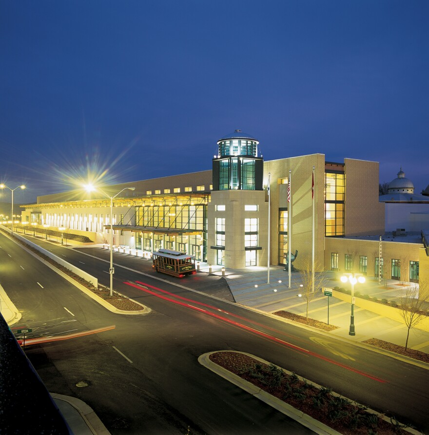 The Hot Springs Convention Center