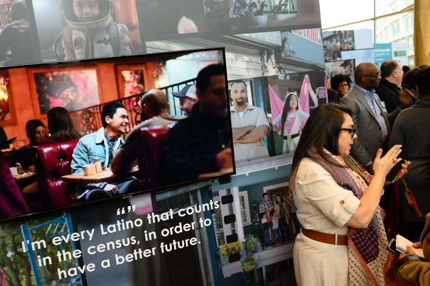 To encourage participation in the 2020 census, the Census Bureau developed a marketing campaign tailored to historically undercounted groups, including Latinos. Some ads emphasized the confidentiality of census responses to try to assuage lingering concerns over the Trump administration's push for a citizenship question.