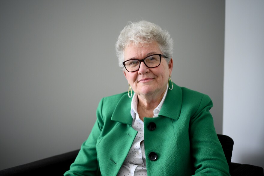 Mary Fox, the head of the Missouri State Public Defender's Office, poses for a portrait on Feb. 11, 2020.