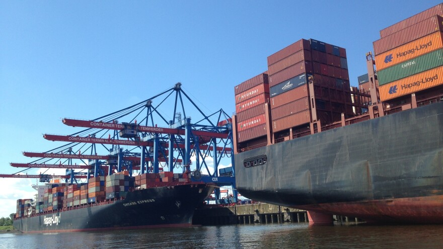 The Port of Hamburg's trade volume has more than doubled since 1990 and is projected to double again by 2030.