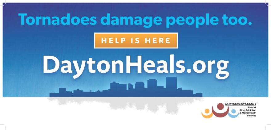 billboard, oregon district, tornadoes, mental health, addiction montgomery County