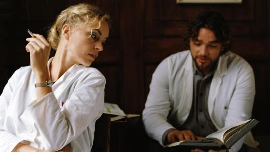 In a move for historical accuracy, recent German films like Christian Petzold's <em>Barbara </em>show a colorful, living version of communist East Germany. (Pictured: Nina Hoss as Barbara and Ronald Zehrfeld as Andre).