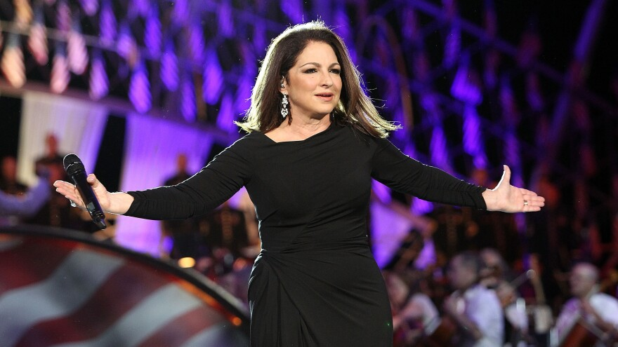 Gloria Estefan, during a performance in Washington, D.C., on Memorial Day this year.