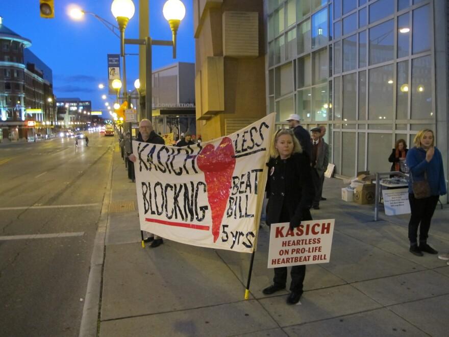 photo of Heartbeat Bill protestors