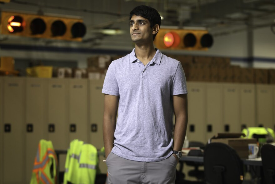 Joshil Bhatpuria, a transportation engineer for the City of Austin