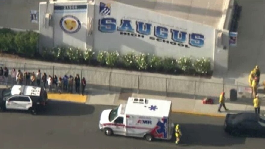 At least two students died and several more were injured after a shooting at Saugus High School in Santa Clarita, Calif., where authorities say a gunman opened fire Thursday morning.