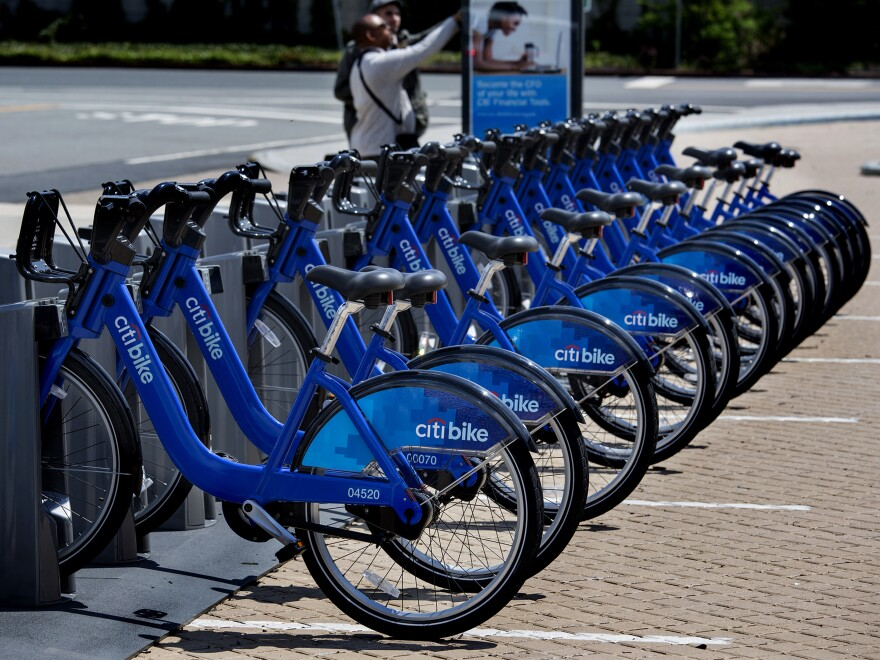 New York this week became the latest major city to launch a bike-share program.