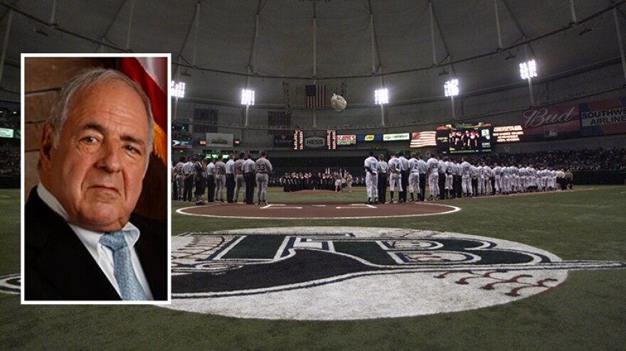 Vince Naimoli, the original owner of the Tampa Bay Rays, died at 81.