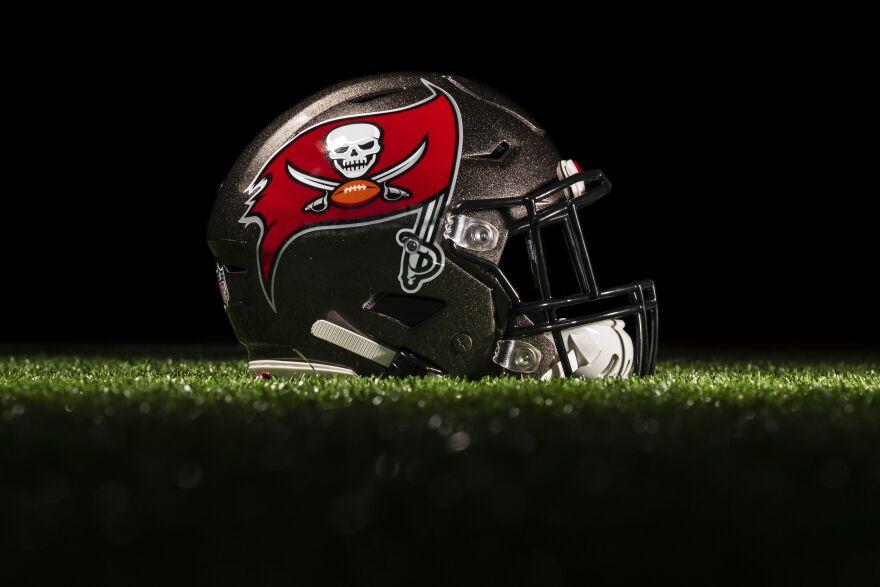 Bucs helmet
