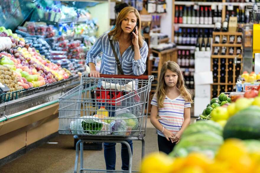"""Andrea Savage plays a comedy writer and a mom on her truTV series <em>I'm Sorry,</em> now in its second season. As she created the pilot, Savage tried not to worry what people thought of the show. """"I'm going to focus and make the show in the spirit of what I want it to be,"""" she says. """"I know what my intentions are, and I hope that then that translates."""" Her daughter is played by Olive Petrucci."""