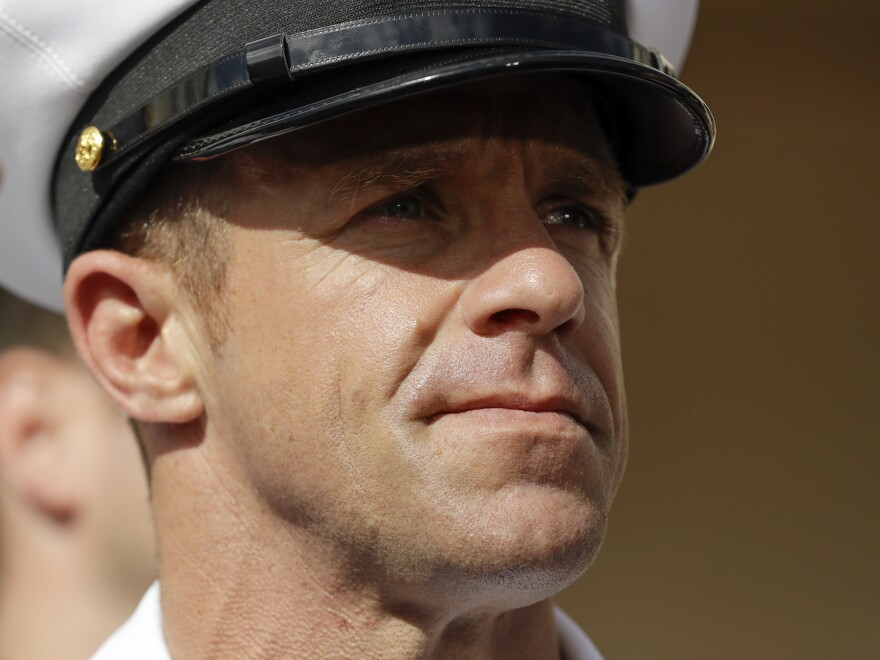 Navy Special Operations Chief Edward Gallagher had his former rank reinstalled less than a week ago. Now he could soon be stripped of his status as a Navy SEAL.